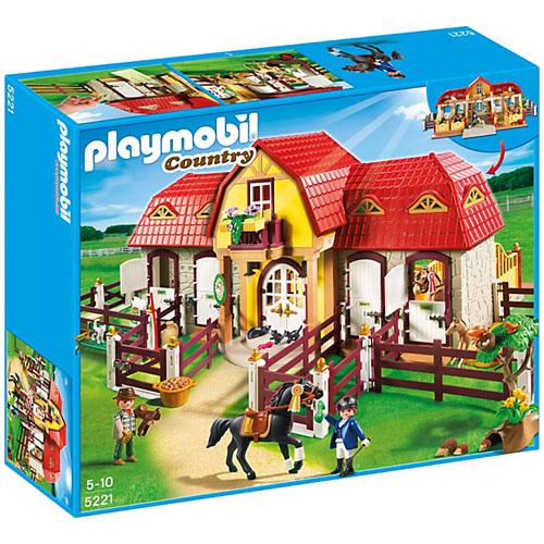 Pony Farm - Ferma Mare cu Padoc, Playmobil