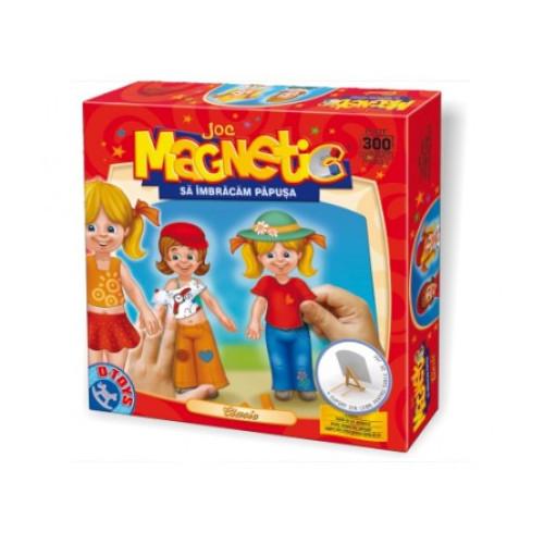 Joc Magnetic Imbracam Papusa Clasica, D-Toys