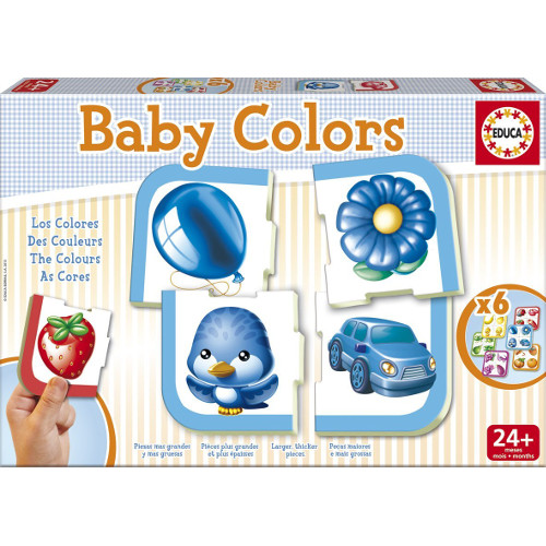 Puzzle Baby Culori, Educa