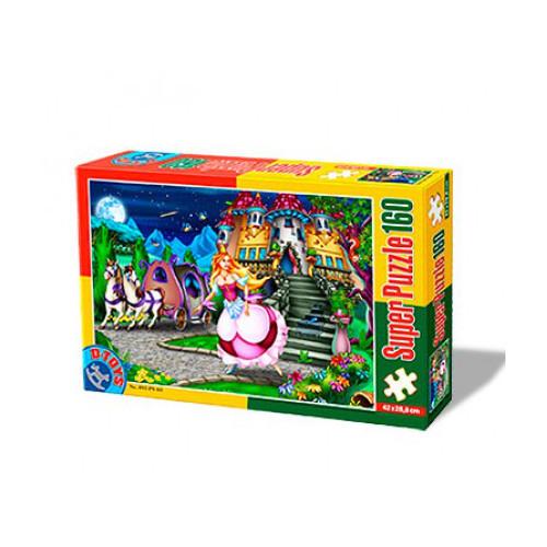 Super Puzzle 160 Piese Cenusareasa, D-Toys