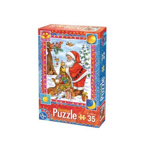 D-Toys - Puzzle Craciun cu 35 Piese Model 5