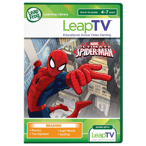 LeapTV - Joc Spiderman, Leap Frog