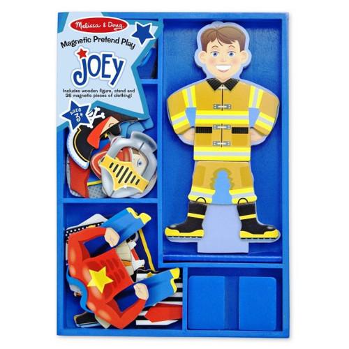 Set Magnetic Sa-l Imbracam pe Joey, Melissa and Doug