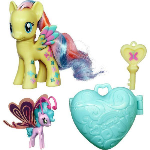 Hasbro - My Little Pony Figurine Fluttershy si Sun Breezie