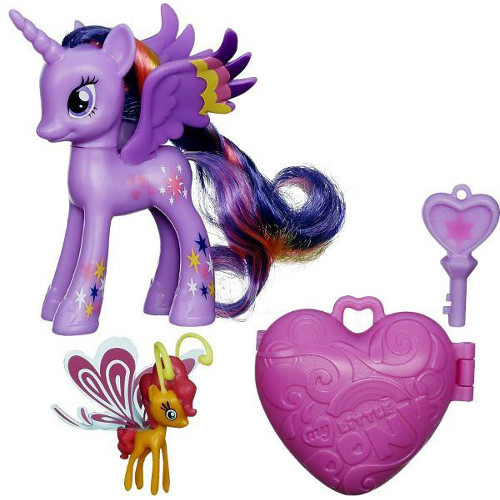 Hasbro - My Little Pony Figurine Twilight Sparkle si Sunset Breezie