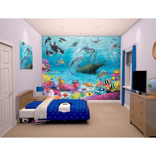 Tapet pentru Copii Sea Adventure, Walltastic