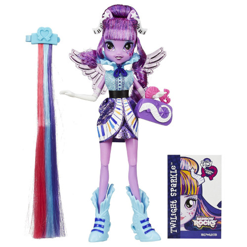Hasbro - My Little Pony Equestria Girls Twilight Sparkle cu Accesorii de Par