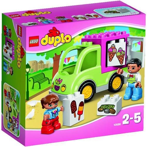 DUPLO - Furgoneta cu Inghetata 10586, LEGO