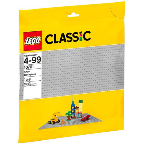 Classic - Placa de Baza Gri 10701, LEGO
