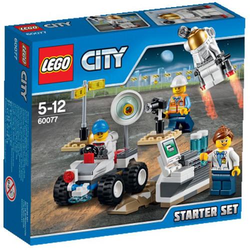 City - Baza Spatiala Set pentru Incepatori 60077, LEGO