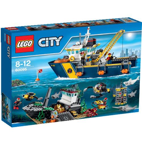 City - Nava de Explorare in Largul Marii 60095, LEGO