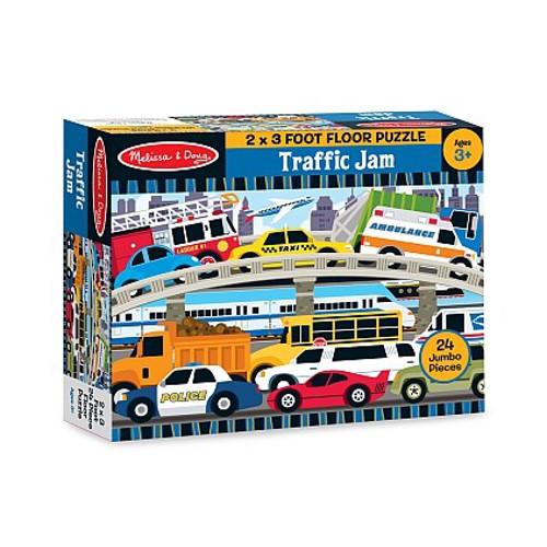 Puzzle de Podea Blocaj in Trafic, Melissa and Doug