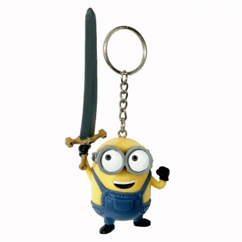 Figurina Breloc Minionul Bob cu Spada Excalibur, Minions