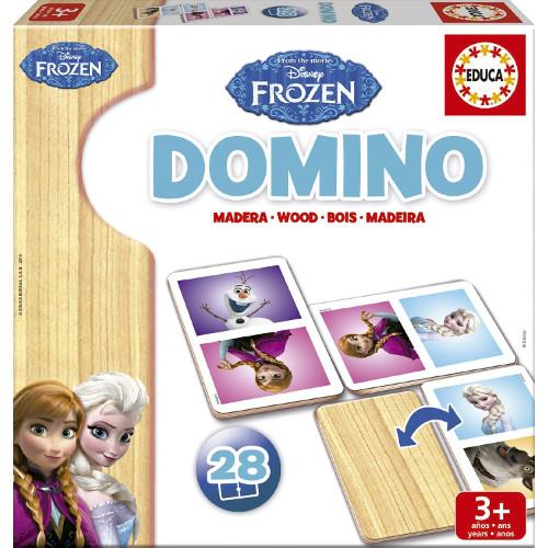 Domino Frozen 28 Piese, Educa