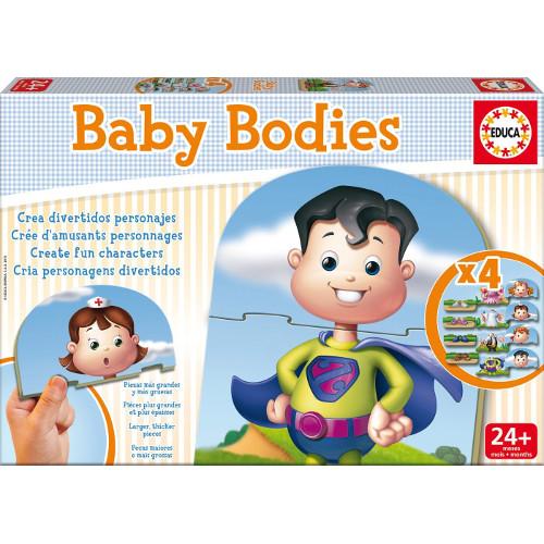Puzzle Baby Bodies, Educa