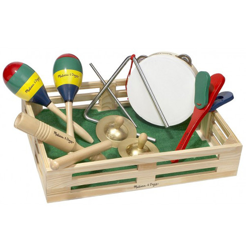 Set Instrumente Muzicale din Lemn, Melissa and Doug