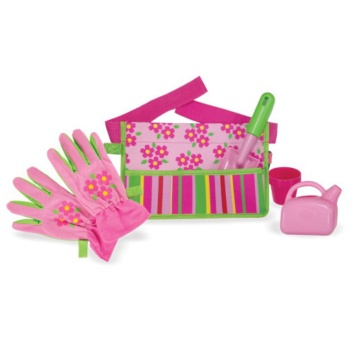 Centura cu Unelte de Gradinarit Blossom Bright, Melissa and Doug