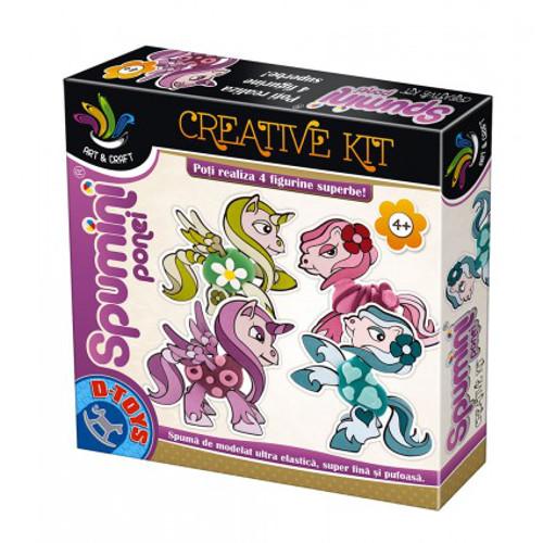 Joc Creativ Spumini Ponei, D-Toys