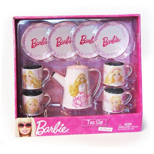 Set Metalic Ceai Barbie, Faro