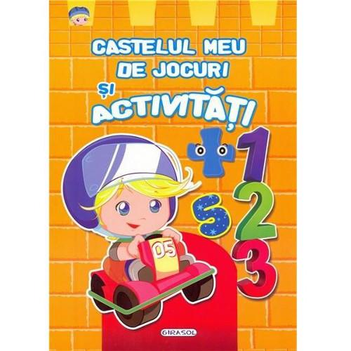 Castelul Meu de Jocuri si Activitati Portocaliu, Editura Girasol
