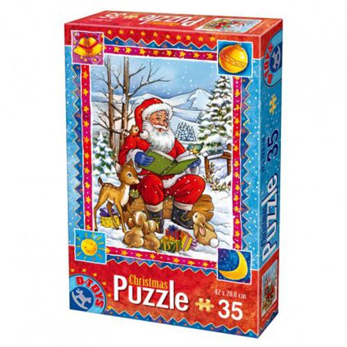D-Toys - Puzzle Craciun cu 35 Piese Model 4