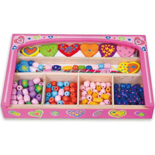 Caseta din Lemn cu Bijuterii, New Classic Toys