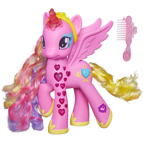 Ponei My Little Pony Glowing Hearts - Printesa Cadance, Hasbro