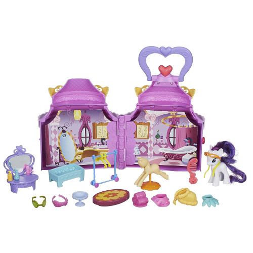 Hasbro - Set de Joaca My Little Pony Booktique - Poneiul Rarity