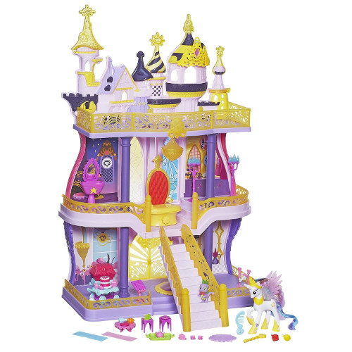 Hasbro - Set My Little Pony Castelul din Canterlot