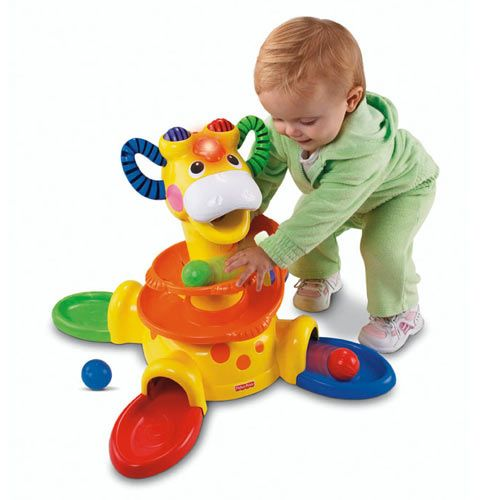 Fisher-Price - Girafa Go-Baby-Go