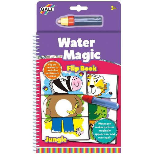 Carte de Colorat Water Magic - Animale din Jungla , Galt