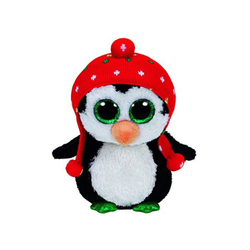 Plus Pinguinul cu Fes Freeze 15 cm, Ty