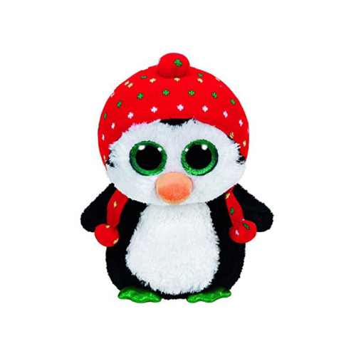 Plus Pinguinul cu Fes Freeze 24 cm, Ty