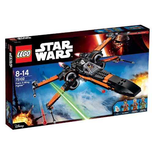 Star Wars - Poe s X-Wing Fighter 75102, LEGO