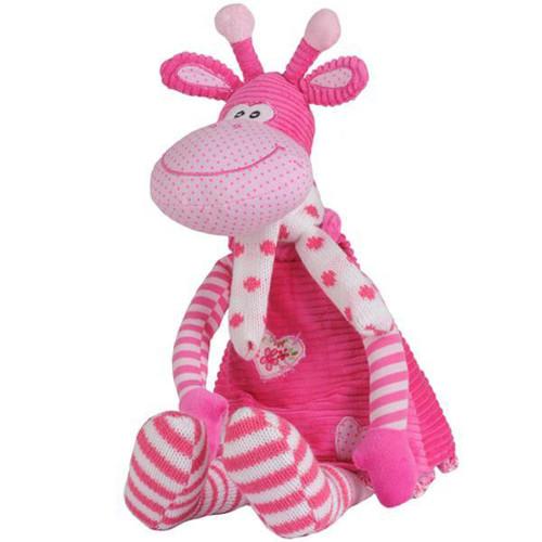 BabyOno - Jucarie de Plus Girafa Lilly cu Zornaitoare