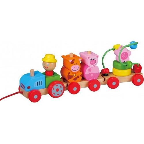 Tractoras cu Figurine, New Classic Toys