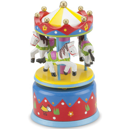 Carusel Muzical Multicolor, New Classic Toys