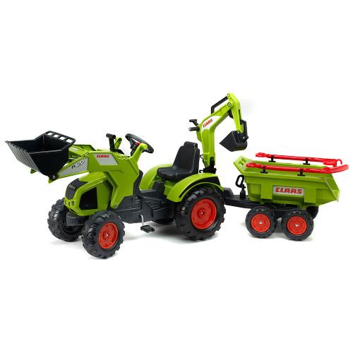 Tractor Claas Axos cu Cupa, Remorca si Accesorii, Falk