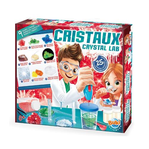 Laboratorul de Cristale - 25 Experimente, Buki France