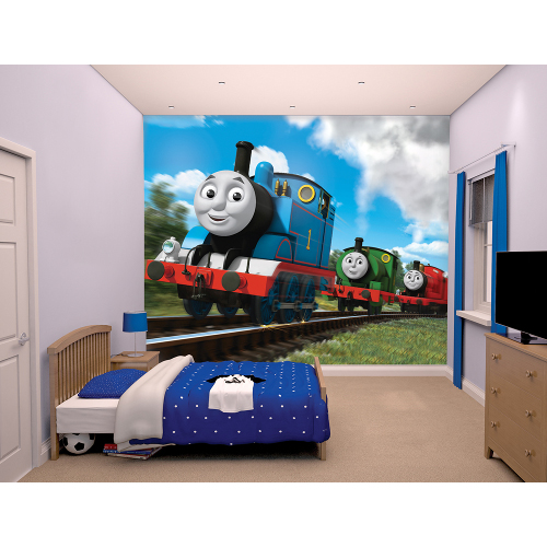 Tapet pentru Copii Thomas and Friends, Walltastic