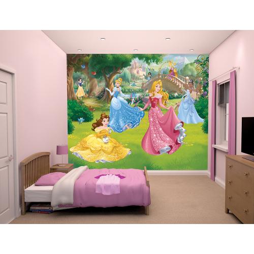 Tapet pentru Copii Printesele Disney 2016, Walltastic