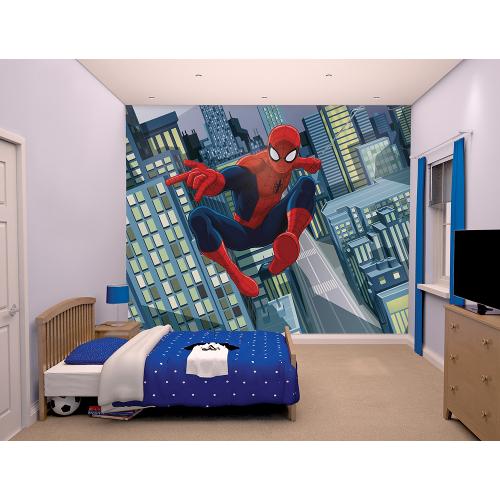 Tapet pentru Copii Spiderman 2016, Walltastic