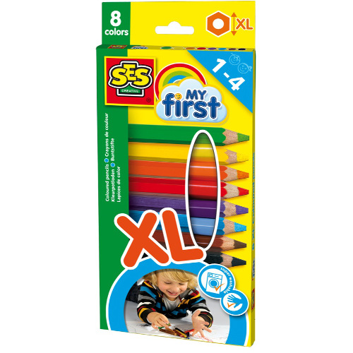 SeS - Set Primele Mele Creioane Colorate