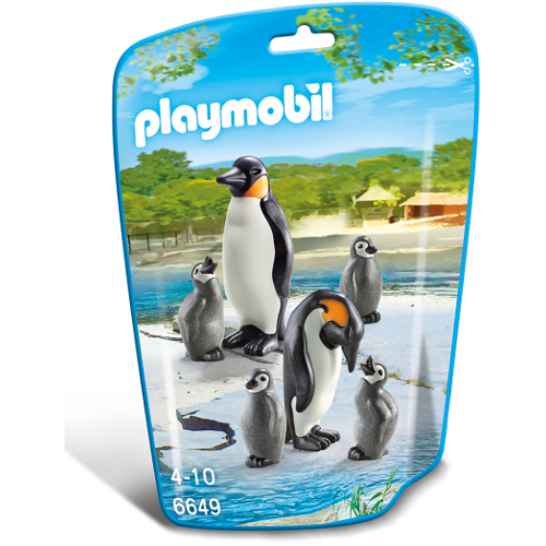 Familie de Pinguini, Playmobil