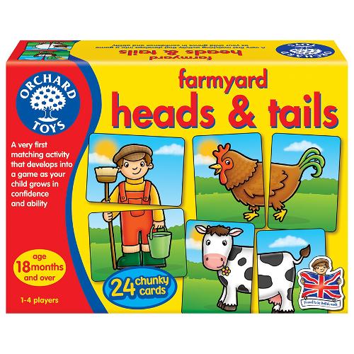 Joc Educativ Asociere Prietenii de la Ferma, Orchard Toys