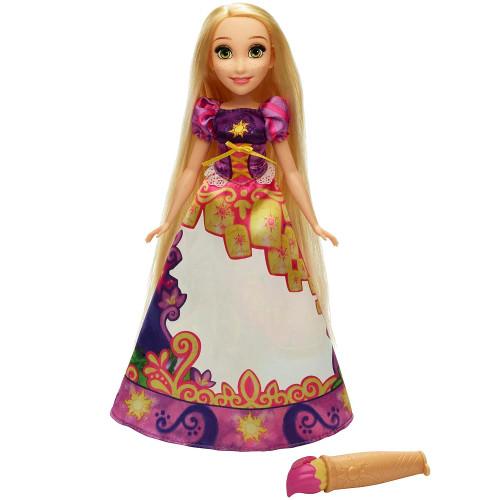 Papusa Disney Princess Rapunzel cu Rochie Magica, Hasbro