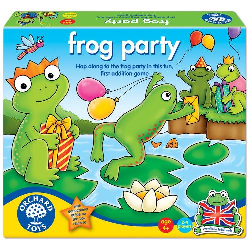 Joc Educativ de Matematica Petrecerea Broscutelor, Orchard Toys