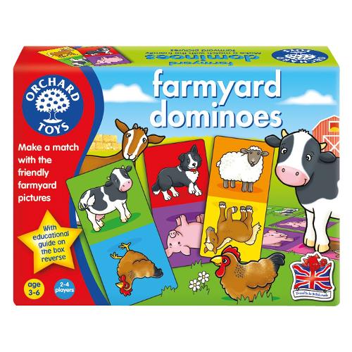 Joc Educativ Domino Ferma, Orchard Toys
