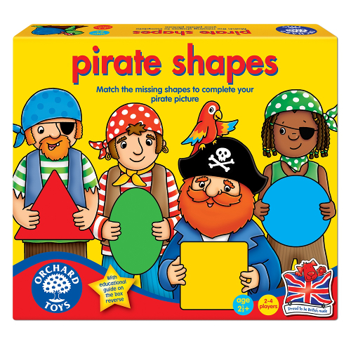 Joc Educativ Formele Piratilor, Orchard Toys