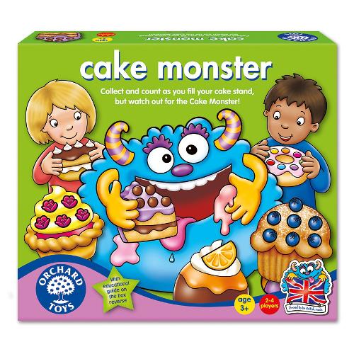 Joc Educativ Monstrul de Prajituri, Orchard Toys